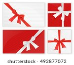 birthday and christmas holidays ... | Shutterstock .eps vector #492877072