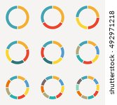 circle infographics concept... | Shutterstock .eps vector #492971218
