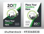 green color scheme with city... | Shutterstock .eps vector #493068838