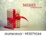 christmas presents. | Shutterstock . vector #493074166