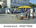 plovdiv  bulgaria   september... | Shutterstock . vector #493077808