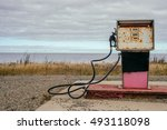 Old Dirty Gas Station ...