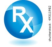 prescription symbol | Shutterstock .eps vector #49311982