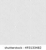 abstract triangle seamless...   Shutterstock .eps vector #493133482