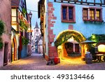 Picturesque Street With...