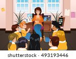 a vector illustration of a... | Shutterstock .eps vector #493193446