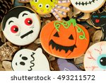 Halloween Cookies With...