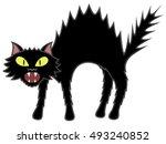 vector illustration of a... | Shutterstock .eps vector #493240852
