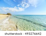 view of a beaches of salento... | Shutterstock . vector #493276642