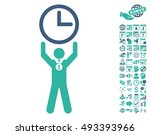 time champion pictograph with... | Shutterstock .eps vector #493393966