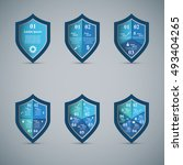 protection business... | Shutterstock .eps vector #493404265