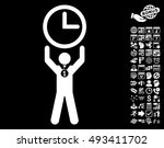 time champion pictograph with... | Shutterstock .eps vector #493411702