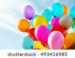 Colorful Birthday Balloons ...