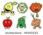 illustration of funny  cute... | Shutterstock . vector #49343233