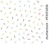 vector seamless pattern jumble... | Shutterstock .eps vector #493451836