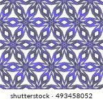 abstract vector seamless... | Shutterstock .eps vector #493458052