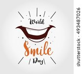 World Smile Day Vector...