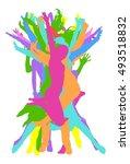 jumpers | Shutterstock .eps vector #493518832