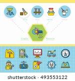 icon set repair vector