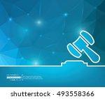 abstract creative concept... | Shutterstock .eps vector #493558366