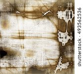 abstract retro design... | Shutterstock . vector #493562536