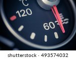 color close up image of a car's ... | Shutterstock . vector #493574032