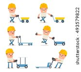 set of smart and funny...   Shutterstock .eps vector #493579822