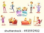 different causes of good and...   Shutterstock .eps vector #493592902