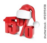christmas discount sale... | Shutterstock . vector #493595458