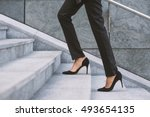 legs and feet detail of... | Shutterstock . vector #493654135