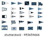 nautical flags | Shutterstock .eps vector #493654666