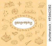 cover school notebook. ... | Shutterstock .eps vector #493662382