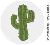 cactus | Shutterstock .eps vector #493718866