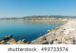 Panoramic View Of Seafront Of...