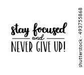 vector motivational quote  ... | Shutterstock .eps vector #493755868