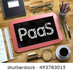 red small chalkboard with... | Shutterstock . vector #493783015