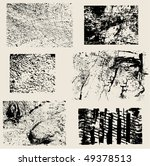 different grunge vector... | Shutterstock .eps vector #49378513