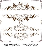 louis designs for various... | Shutterstock .eps vector #493799902