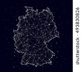 germany map   constellation ...