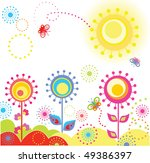funny greeting card | Shutterstock .eps vector #49386397