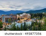 whistler  british columbia ... | Shutterstock . vector #493877356