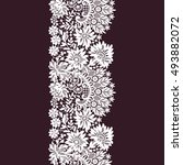 lace seamless pattern. | Shutterstock .eps vector #493882072