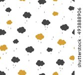vector seamless pattern with... | Shutterstock .eps vector #493888906