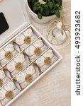 wedding favors   Shutterstock . vector #493923682