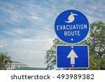 Hurricane Evacuation Route Road ...