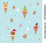 illustration vector of merry...   Shutterstock .eps vector #494006062