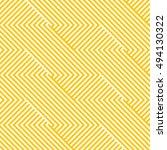 pattern stripe seamless orange... | Shutterstock .eps vector #494130322