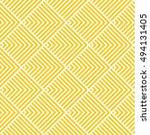 pattern stripe seamless orange... | Shutterstock .eps vector #494131405