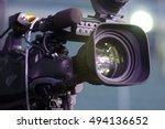 professional digital video... | Shutterstock . vector #494136652