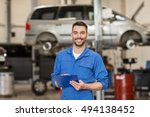car service  repair ... | Shutterstock . vector #494138452